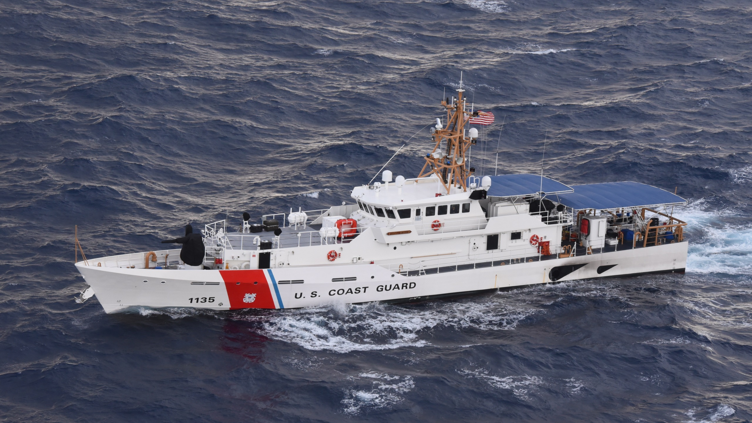 Coast Guard Brings Haul Of Seized Cocaine To San Diego