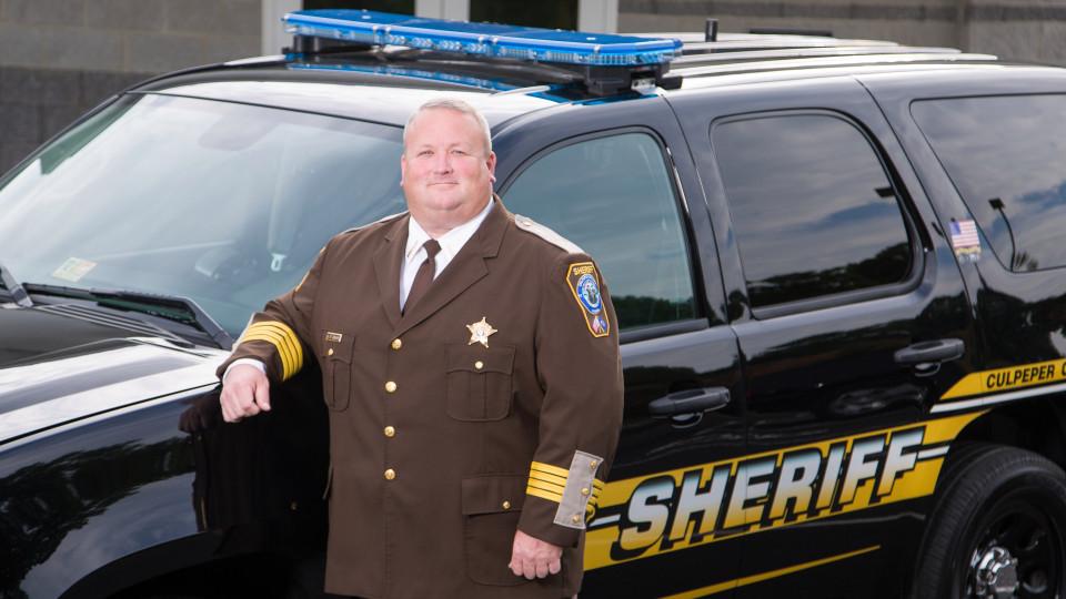 Culpeper County Sheriff Scott Jenkins