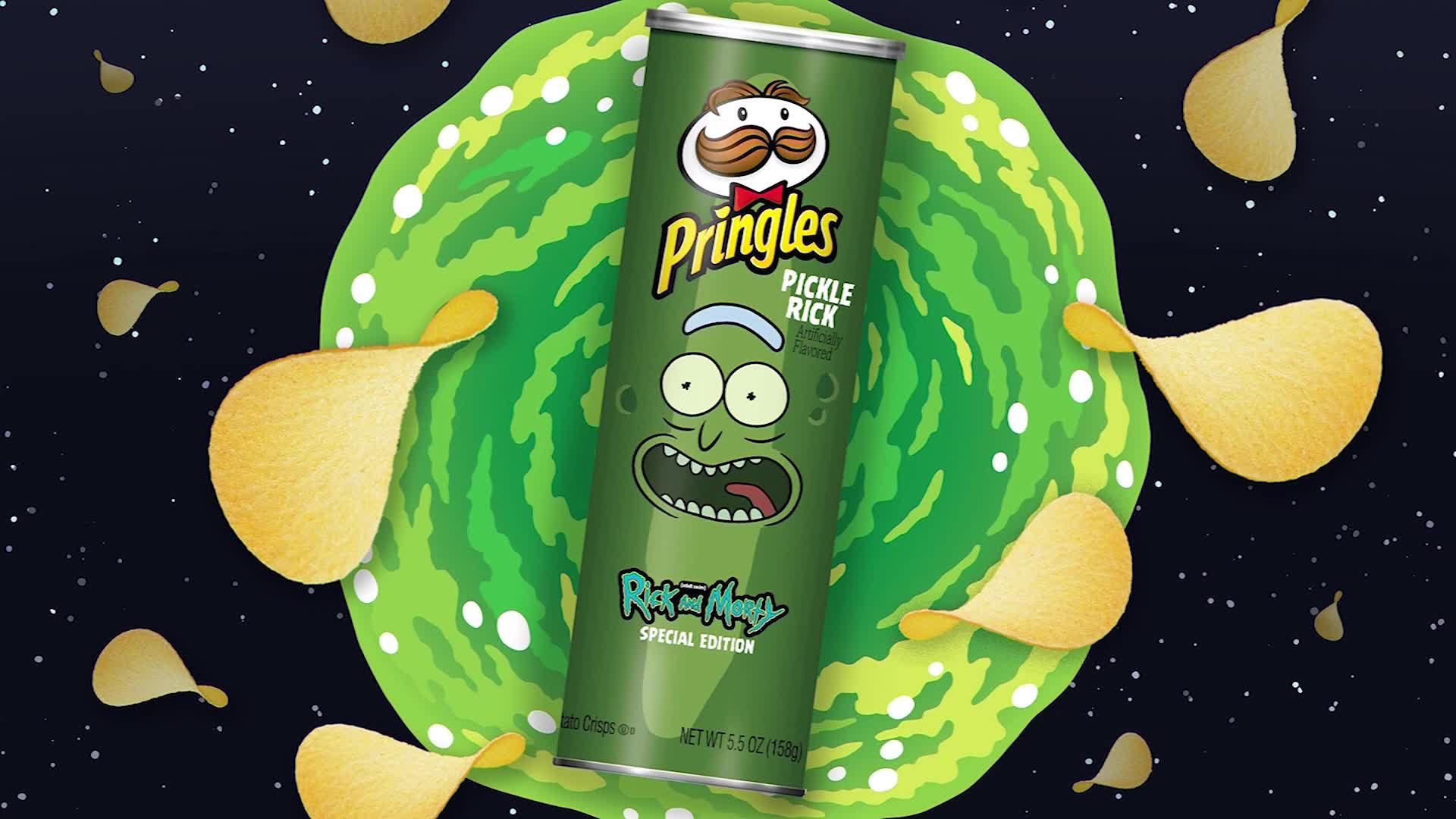 Pringles To Release Rick And Morty Inspired Chip