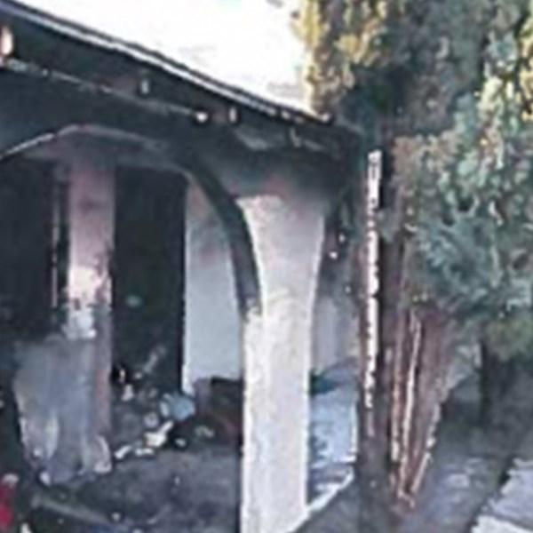 Hanford Fire Damage