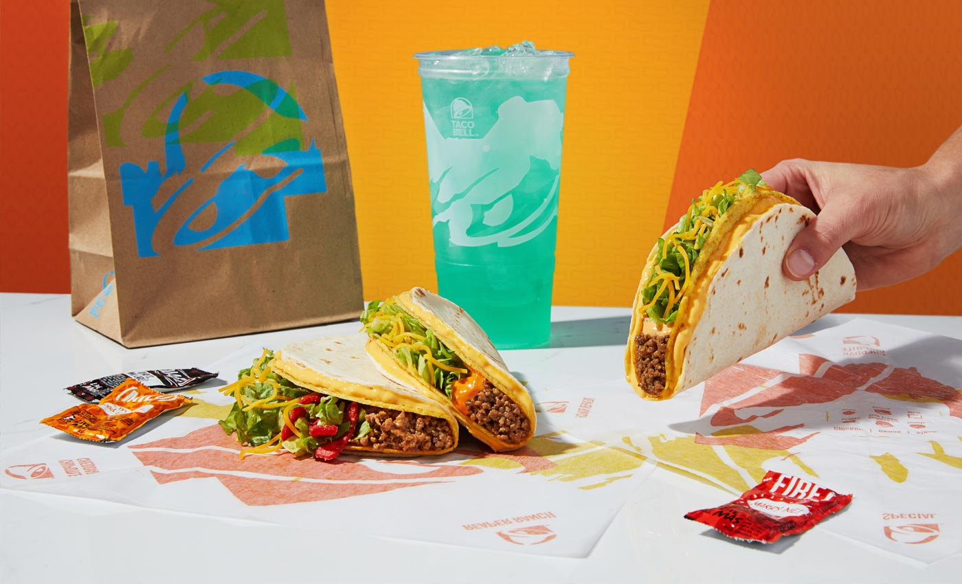 Photo of Taco Bell menu items