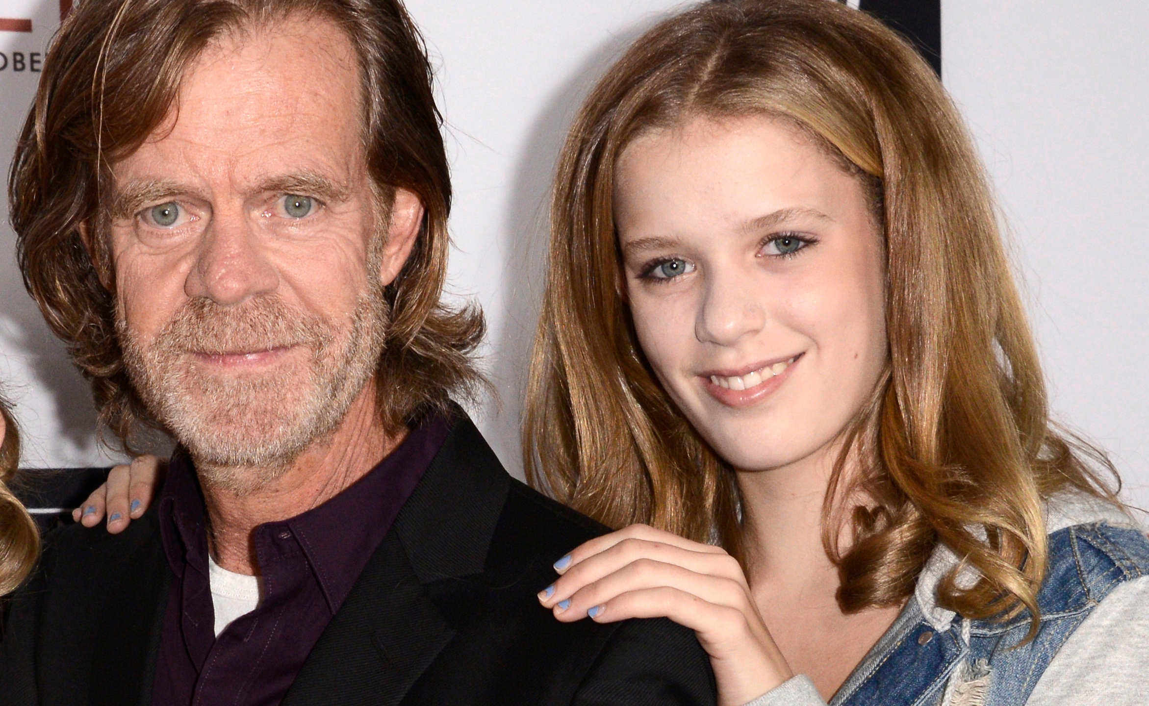 Grace Macy, William H. Macy, Sophia Macy
