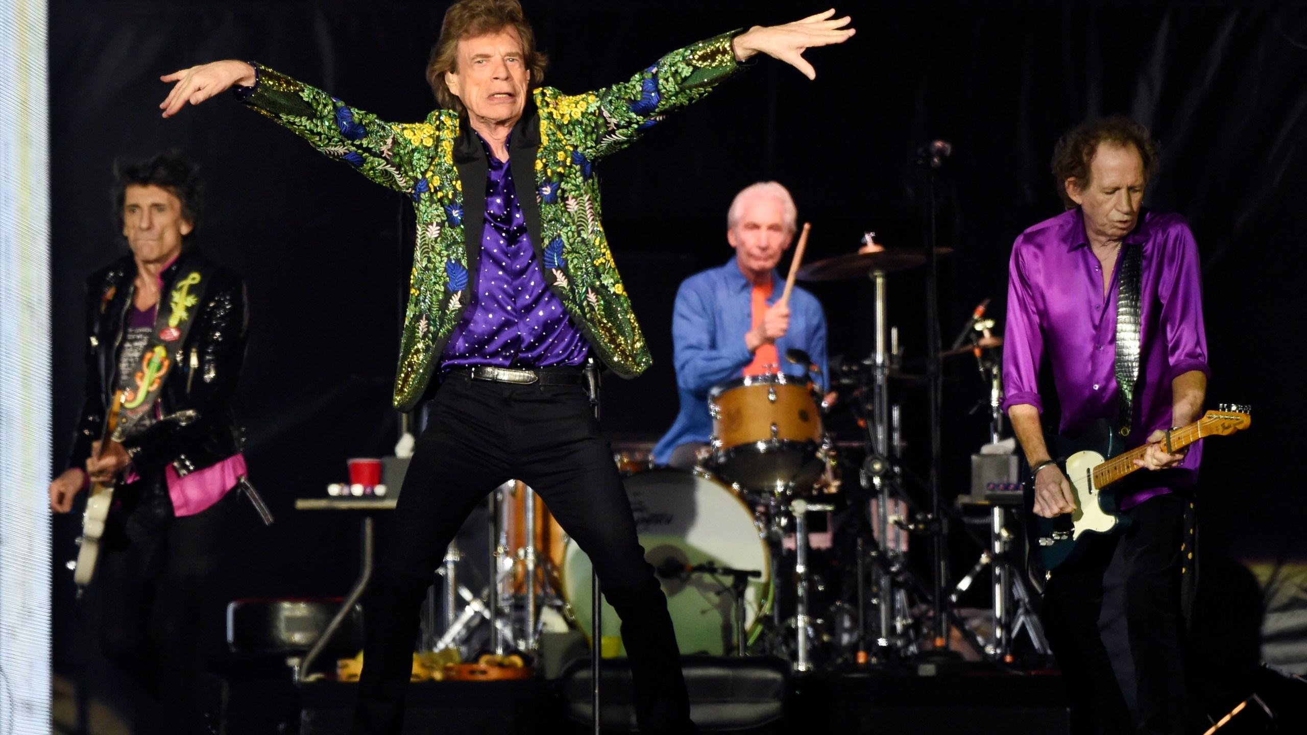 Ron Wood, Mick Jagger, Charlie Watts, Keith Richards