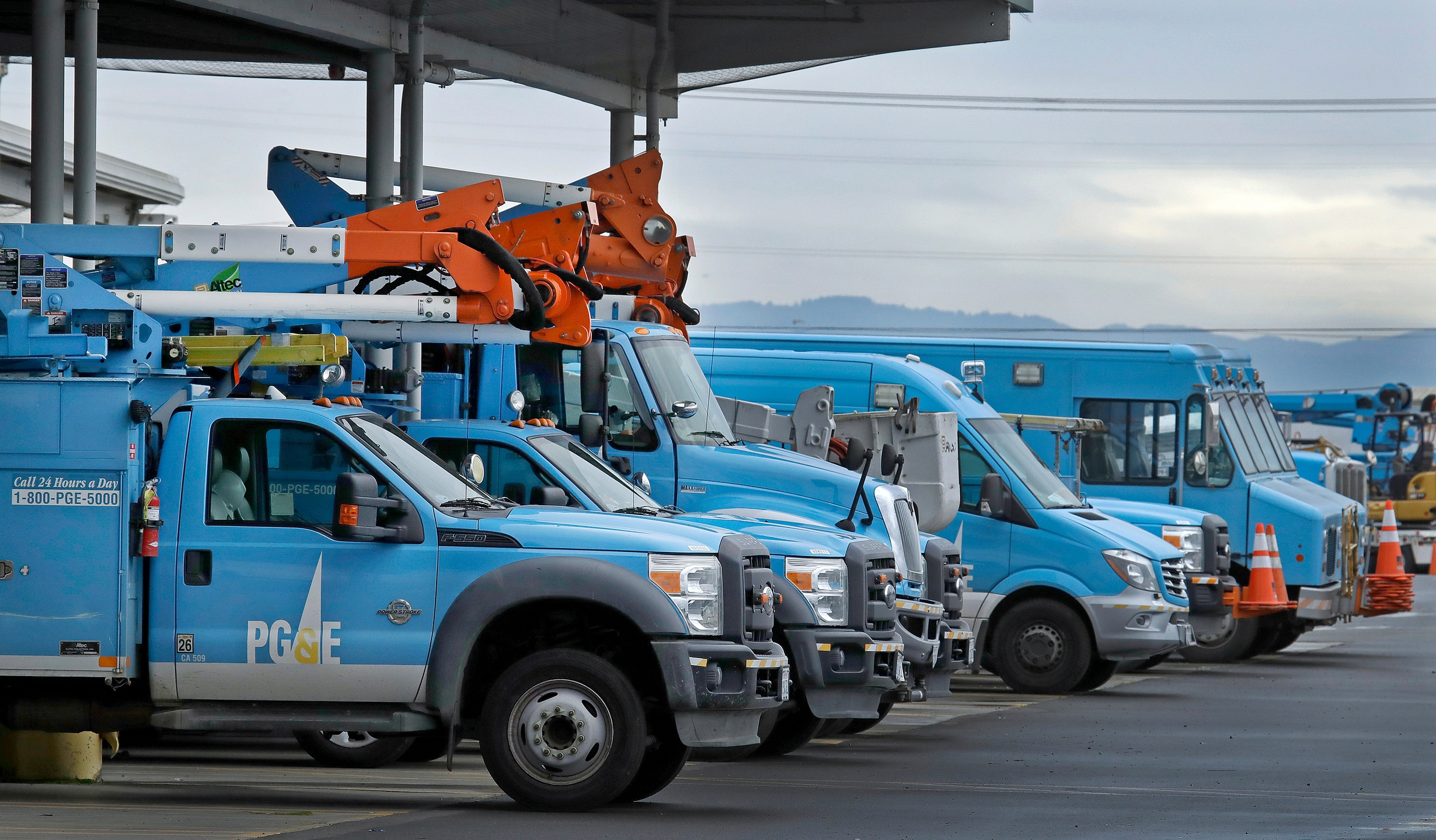 PG&E Work Vehicles