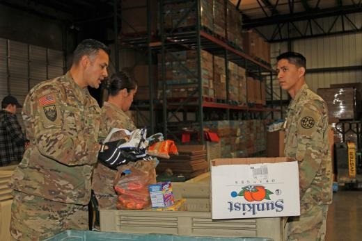 National Guard supporting food banks in Northern Califonira