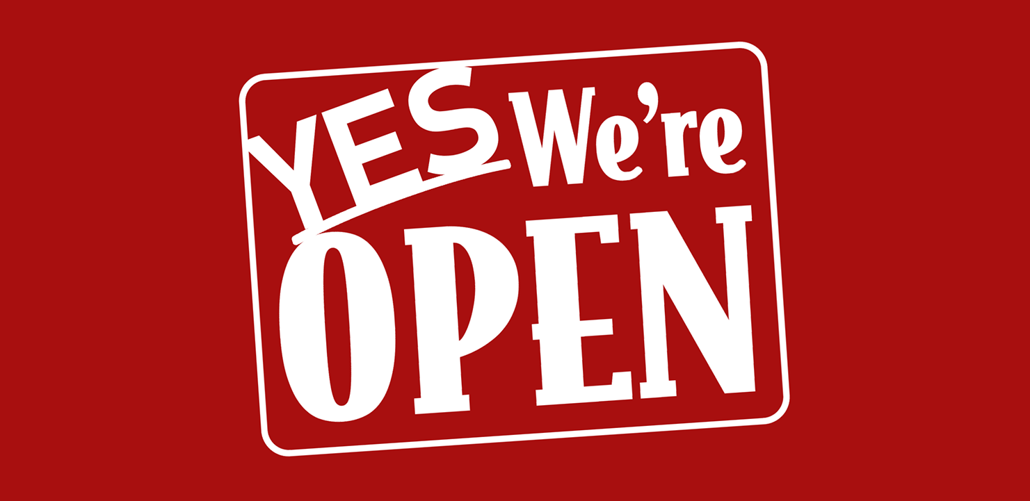 Yes, We're Open | KETK.com | FOX51.com