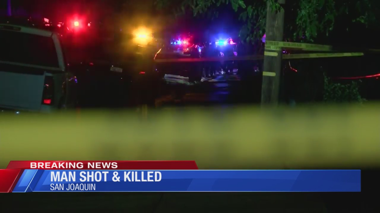 Man shot and killed in San Joaquin, deputies say