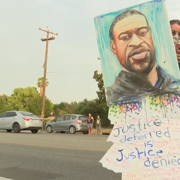 Peaceful demonstration in Fresno honors the life of George Floyd