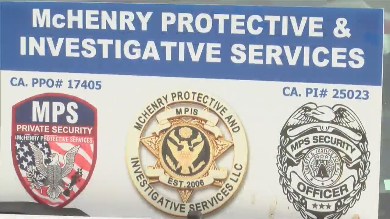 Local private security business suddenly finds itself in high demand