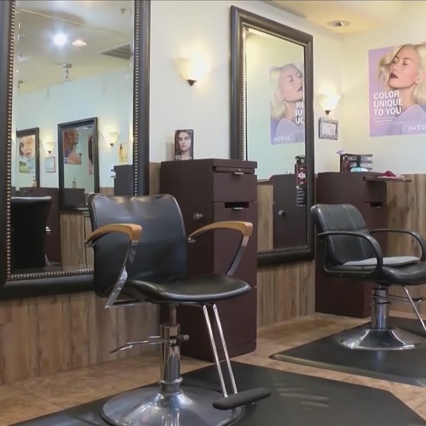 Fresno hair salon considering moving some services outside