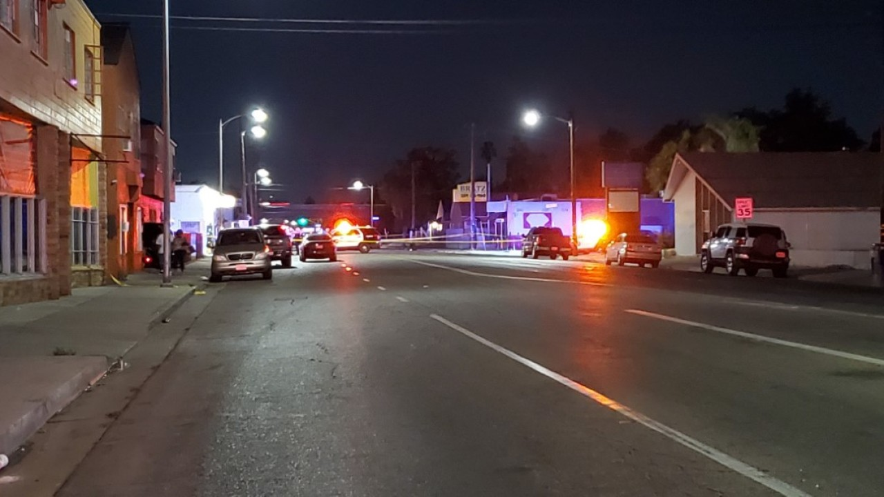 Man shot in the head after disturbance in central Fresno, police say