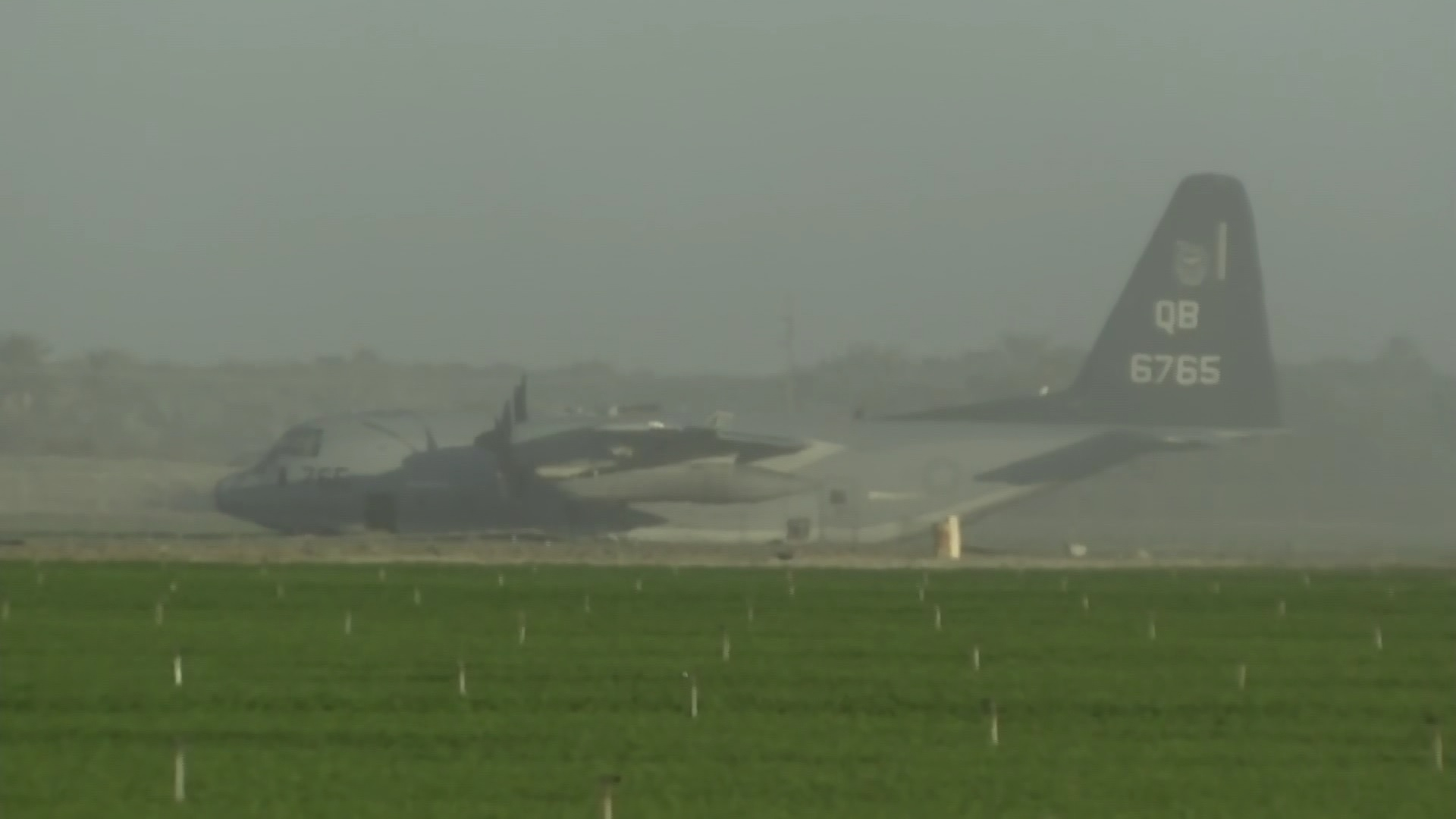 Downed military plane reported in Imperial County, Navy says