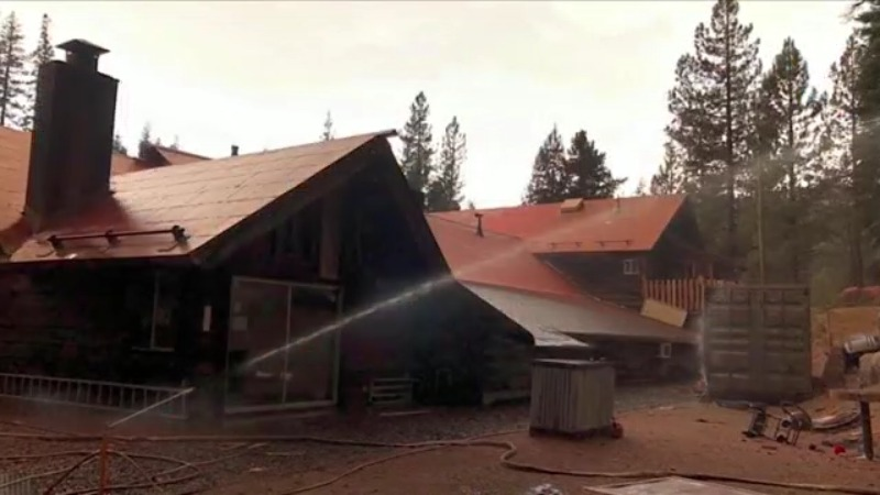 Ponderosa Lodge serving meals to firefighters after crews save the community from flames