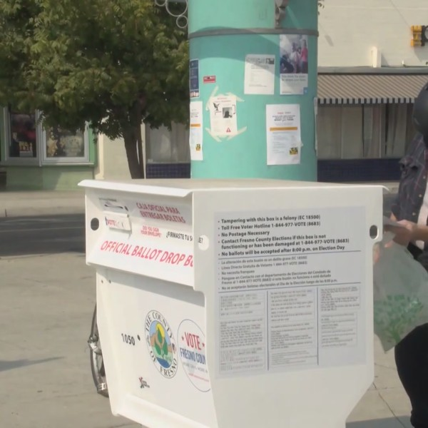 Drop boxes unlocked as early voting gets underway in Fresno County