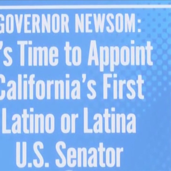 Call to fill Harris' vacant senate seat with Latino or Latina made by Valley politicians