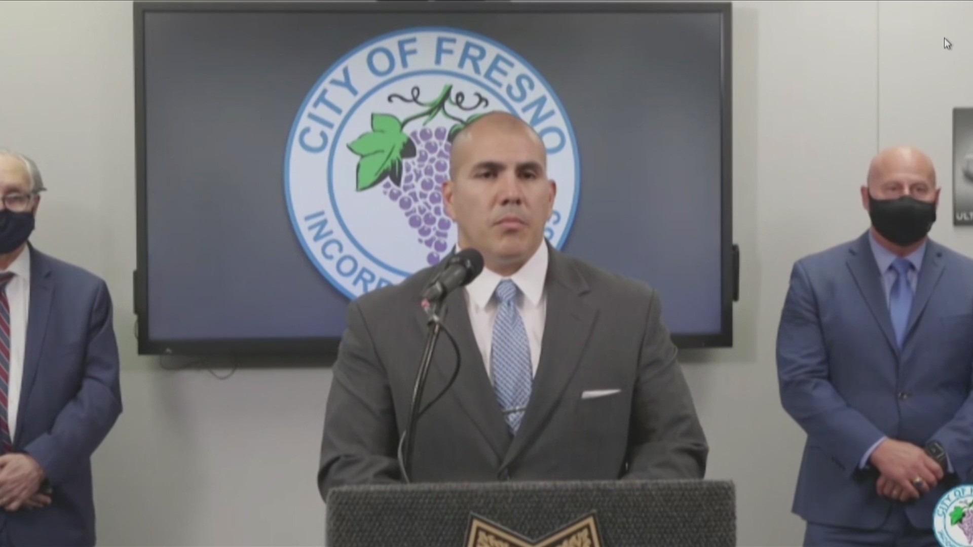 Oklahoma City Deputy Chief Paco Balderrama
