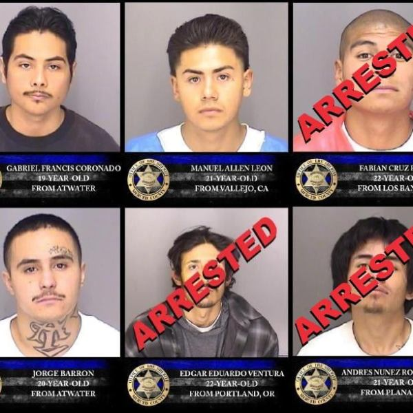 3 escaped Merced County inmates arrested, 3 others remain on the run