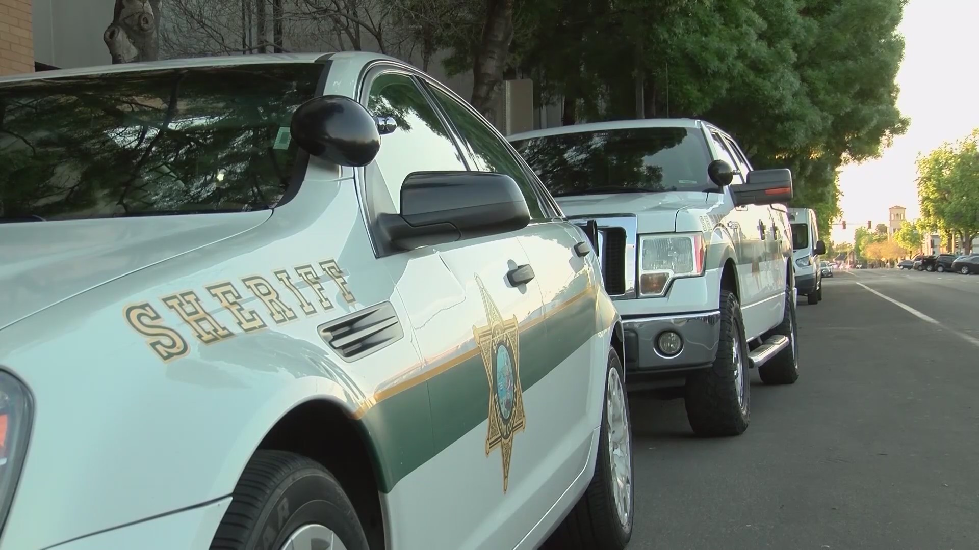 Fresno County Sheriff's Office vehicles