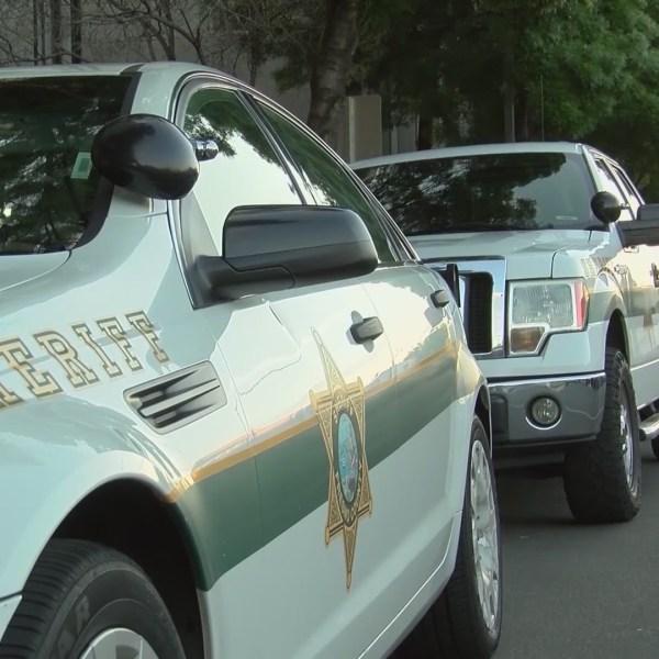 Fresno County Sheriff's Office vehicles