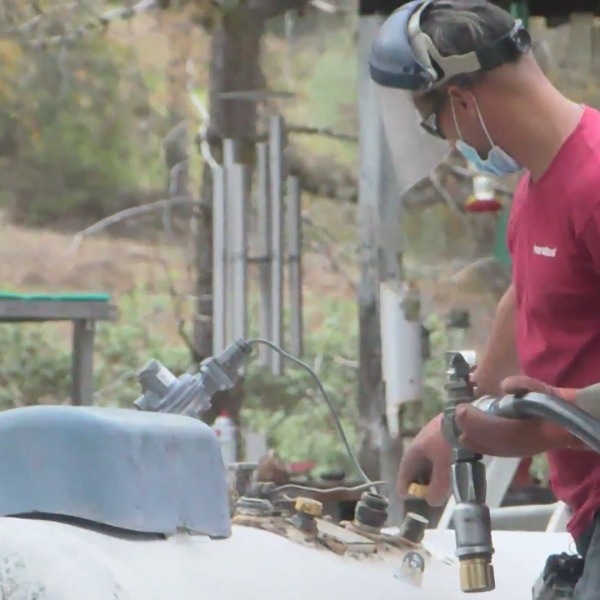Propane delivered to families after weeks of no heat, hot water