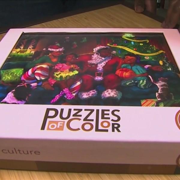 'Puzzles of Color' creates puzzles depicting black culture