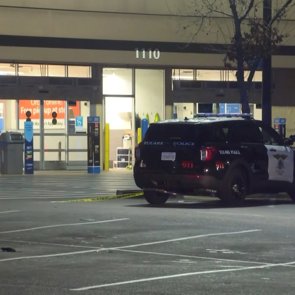 Shots fired at Walmart parking lot in Tulare, no injuries, police say
