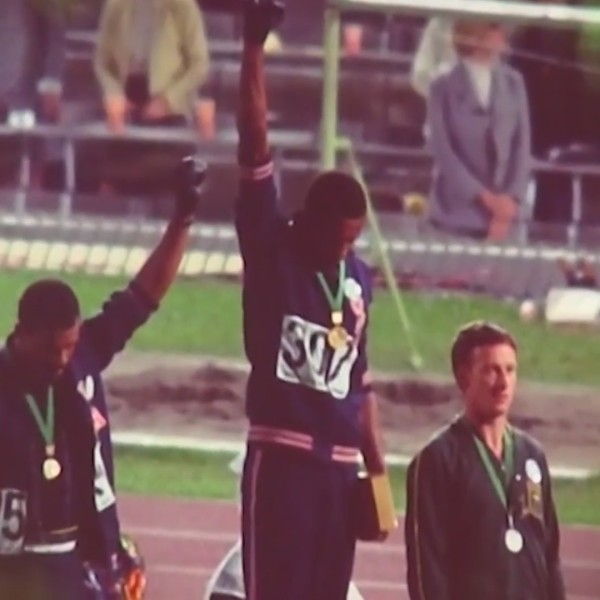 Taking a stand at the Olympic Games - Honoring Black History