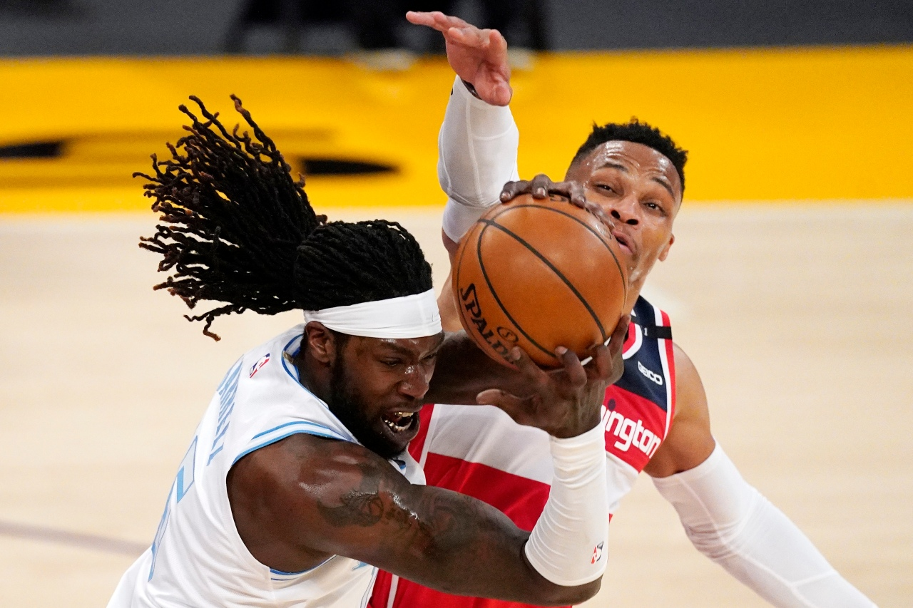 Wizards win 5th straight, hold off Lakers 127-124 in OT |  YourCentralValley.com KSEE24