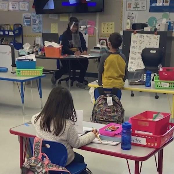 Educator of the Week Mrs. Clarkson from Goshen Elementary