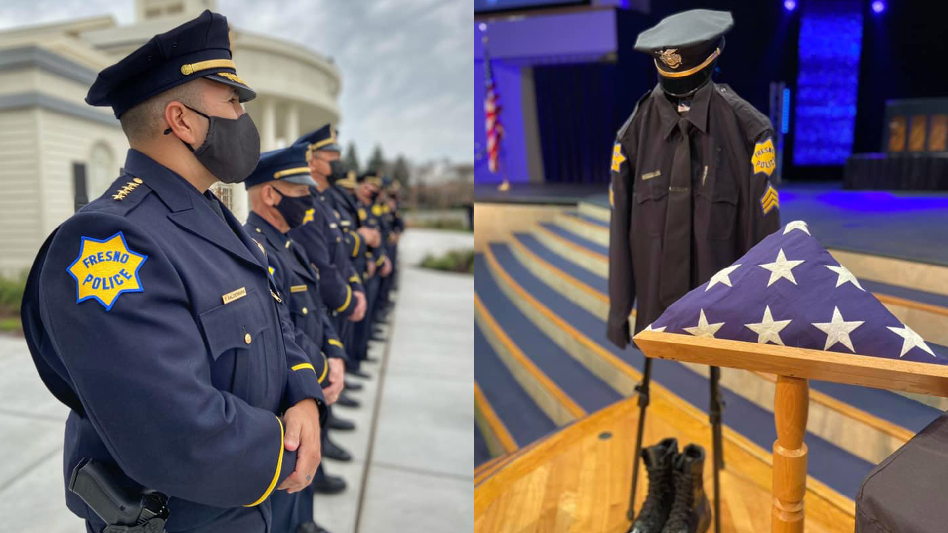 Fresno Police sergeant who died due to COVID-19 laid to rest