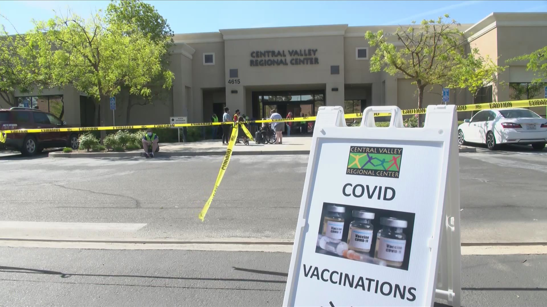 Disabled people in Fresno take part in COVID-19 vaccine clinic