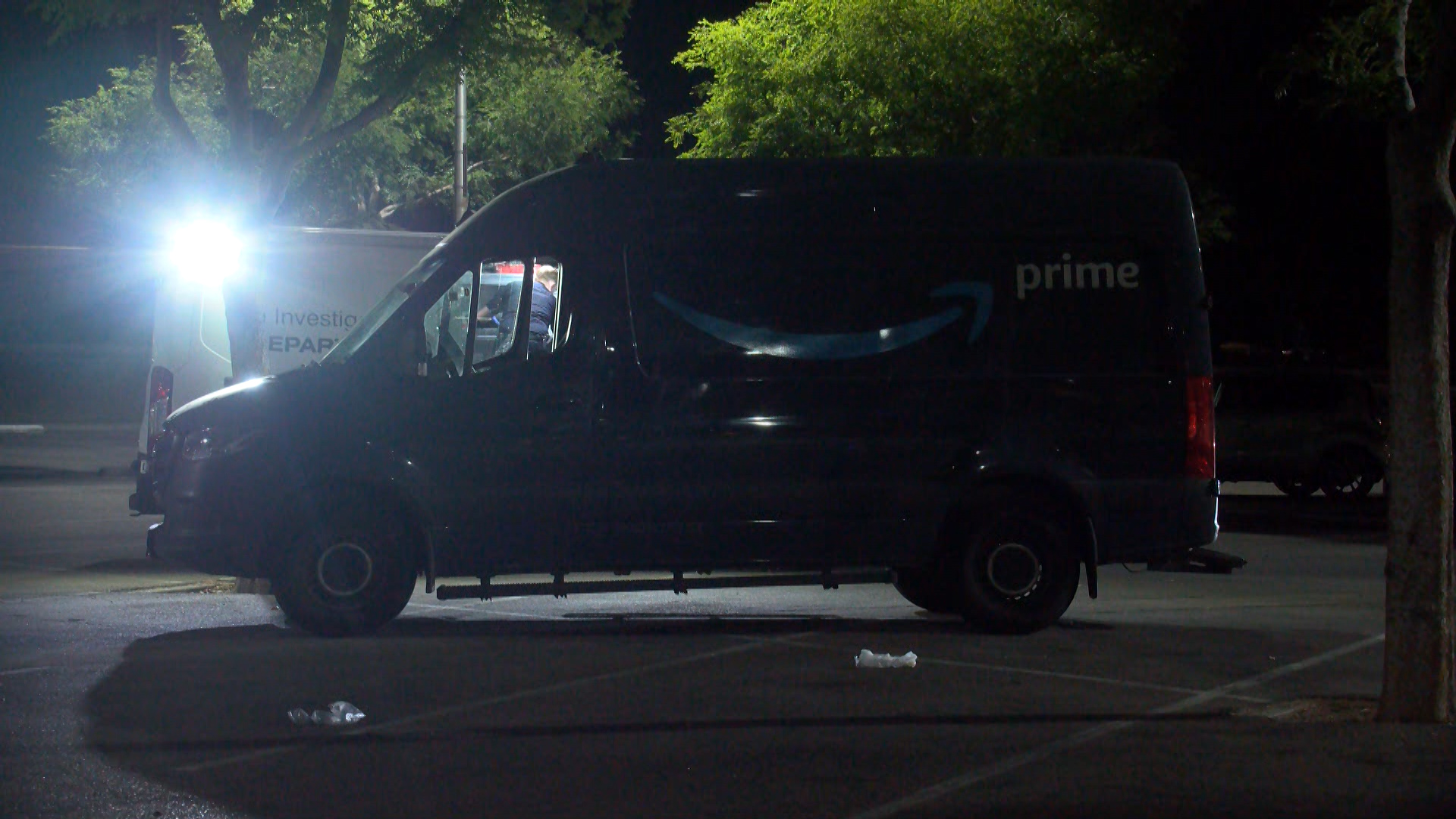 Joyride in Amazon van after driver leaves it running outside Fresno warehouse, police say