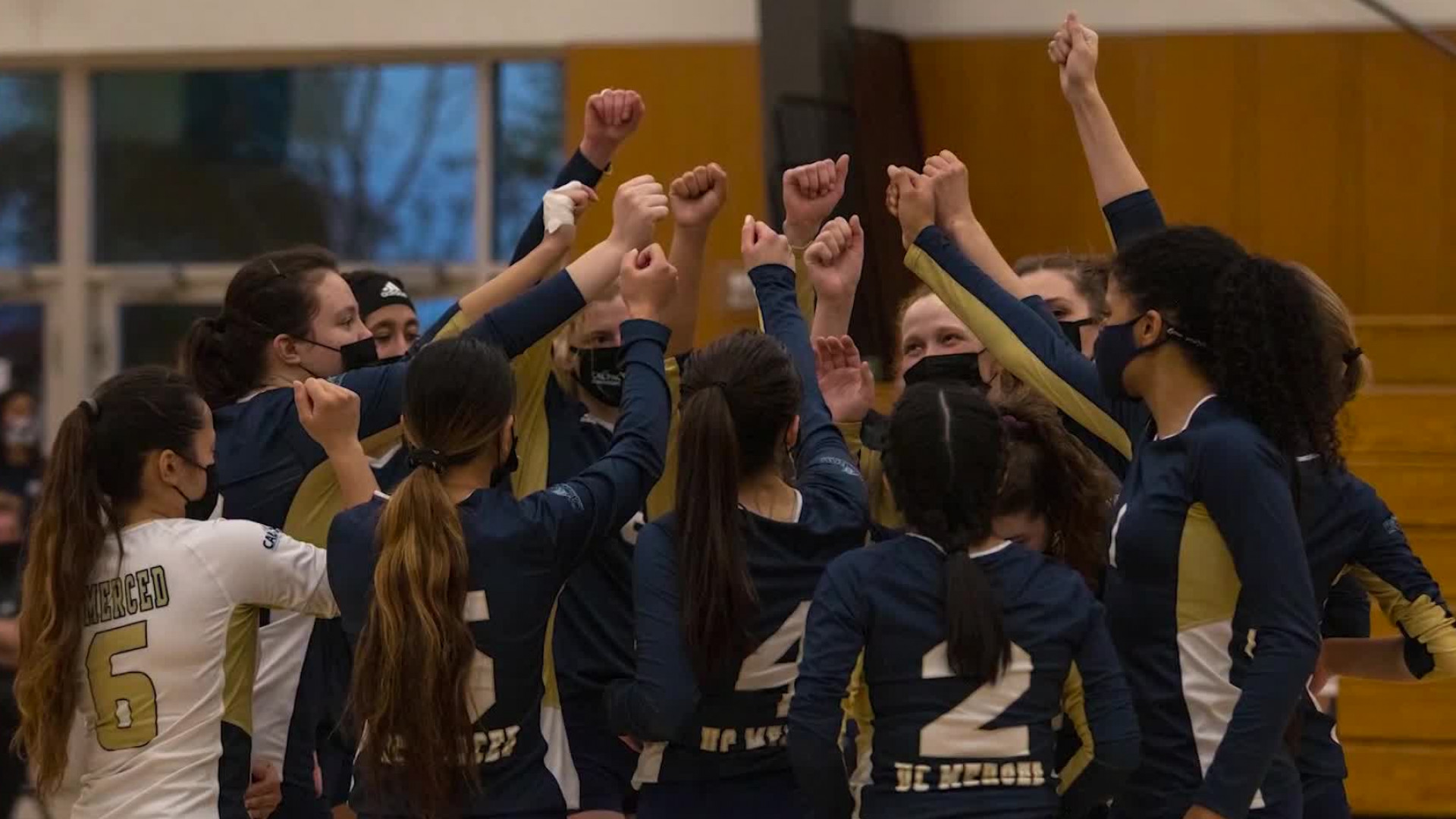 UC Merced women's volleyball team on a hard-fought season
