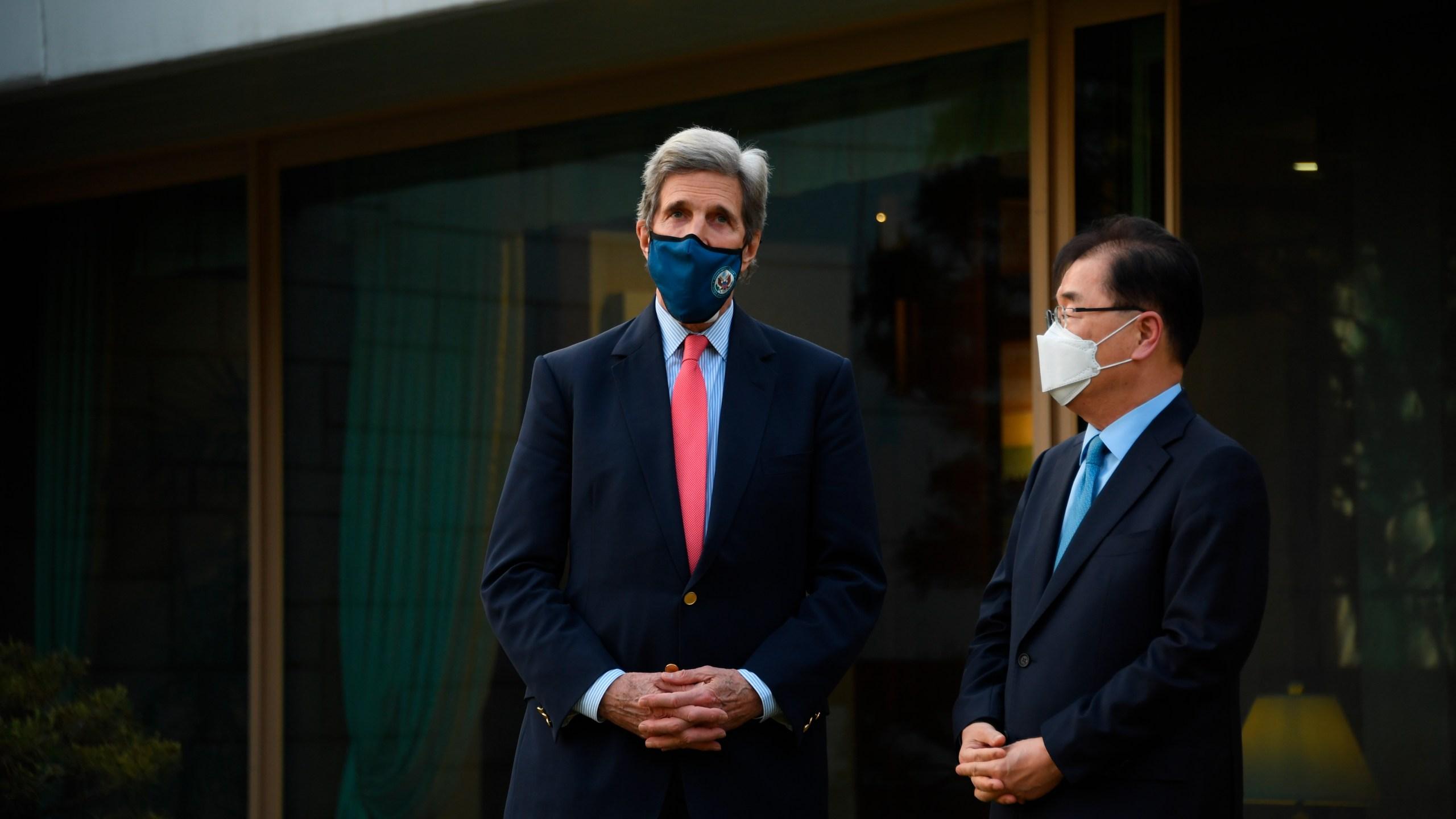 John Kerry, Chung Eui-yong