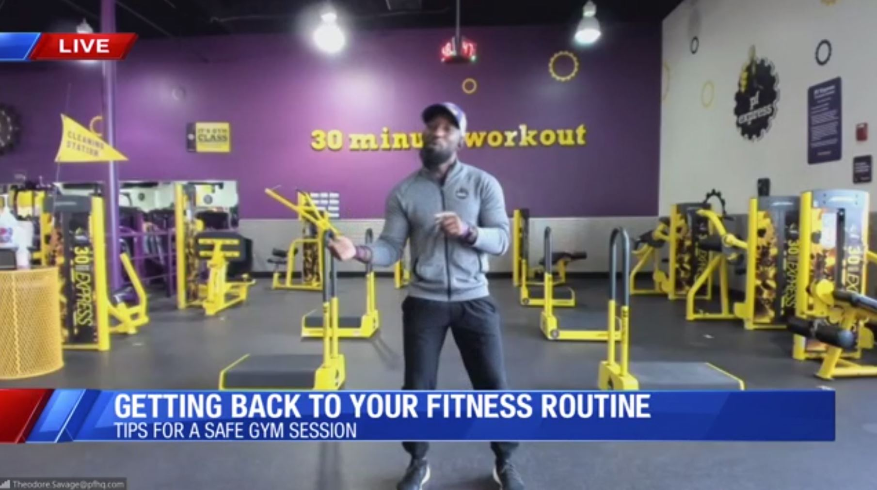 Getting Back Into Your Workout Routine Planet Fitness Joins Us Live On Cbs47 With Tips Yourcentralvalley Com