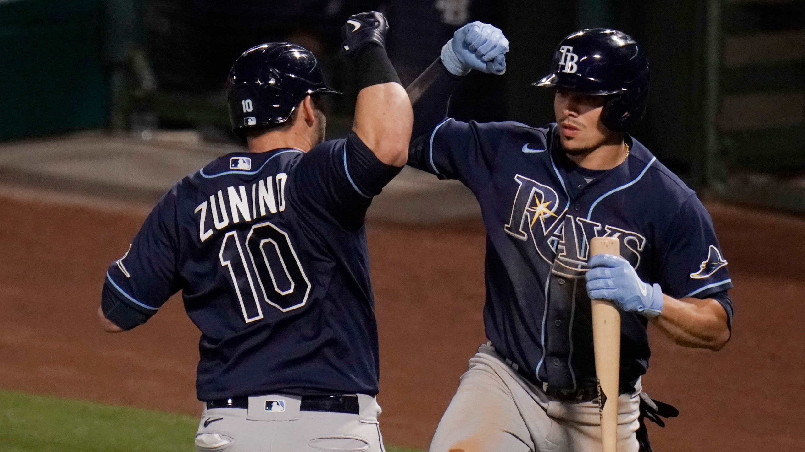 Mike Zunino, Willy Adames