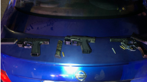 4 children arrested after 'ghost guns' found in Parlier car, police say
