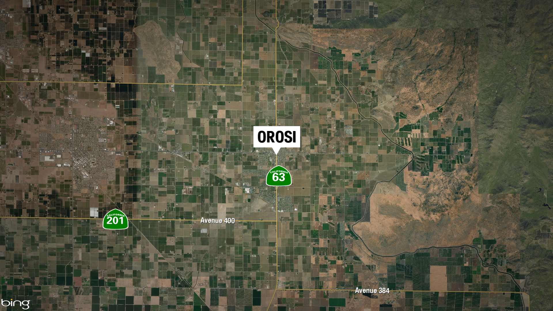 5-14 OROSI CHILD BURNED STILL MAP