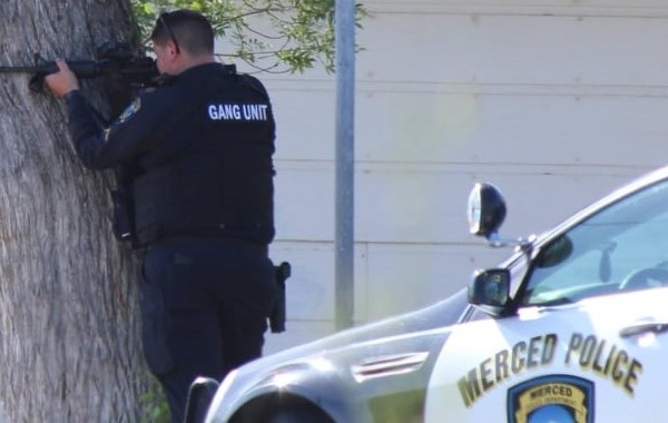 5-hour standoff in Merced ends with suspect's surrender, police say