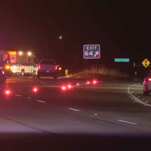 CHP: Pedestrian killed on Hwy 180 after running into traffic
