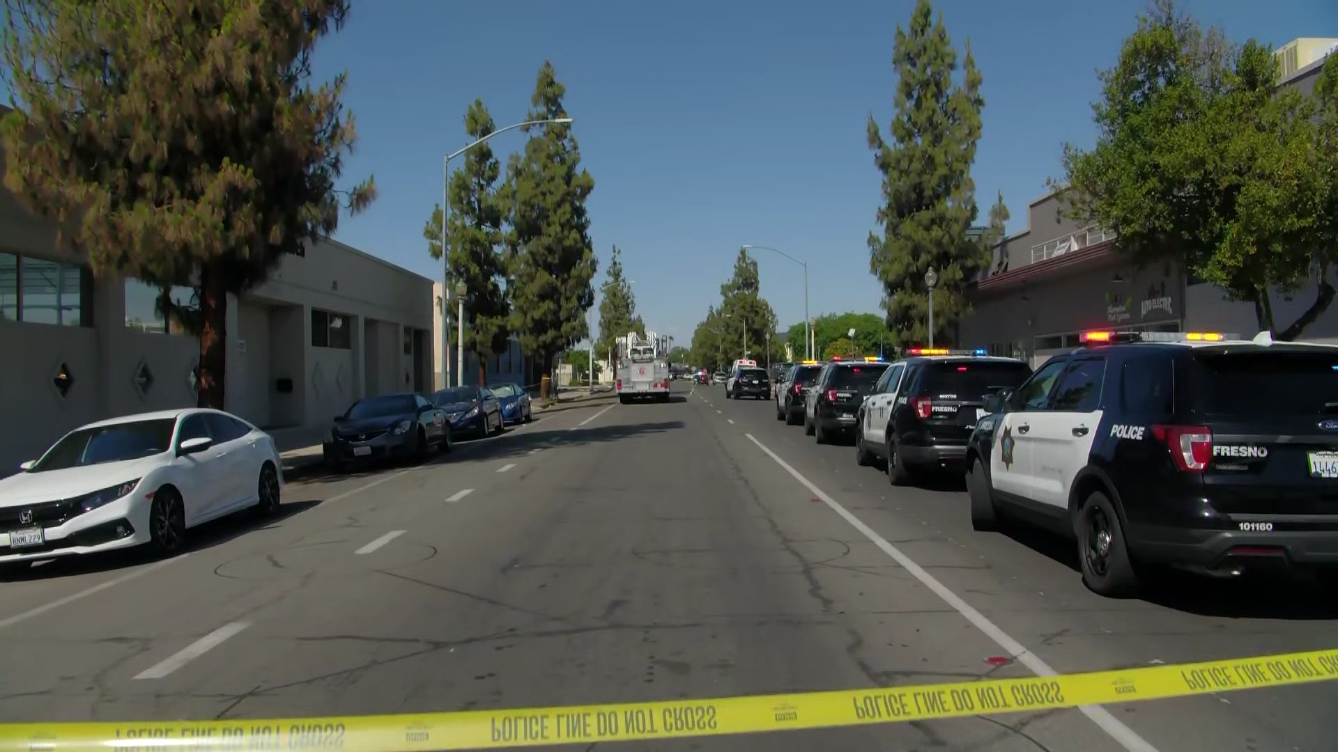 Downtown Fresno streets closed, schools in lockdown, as police search for suspect