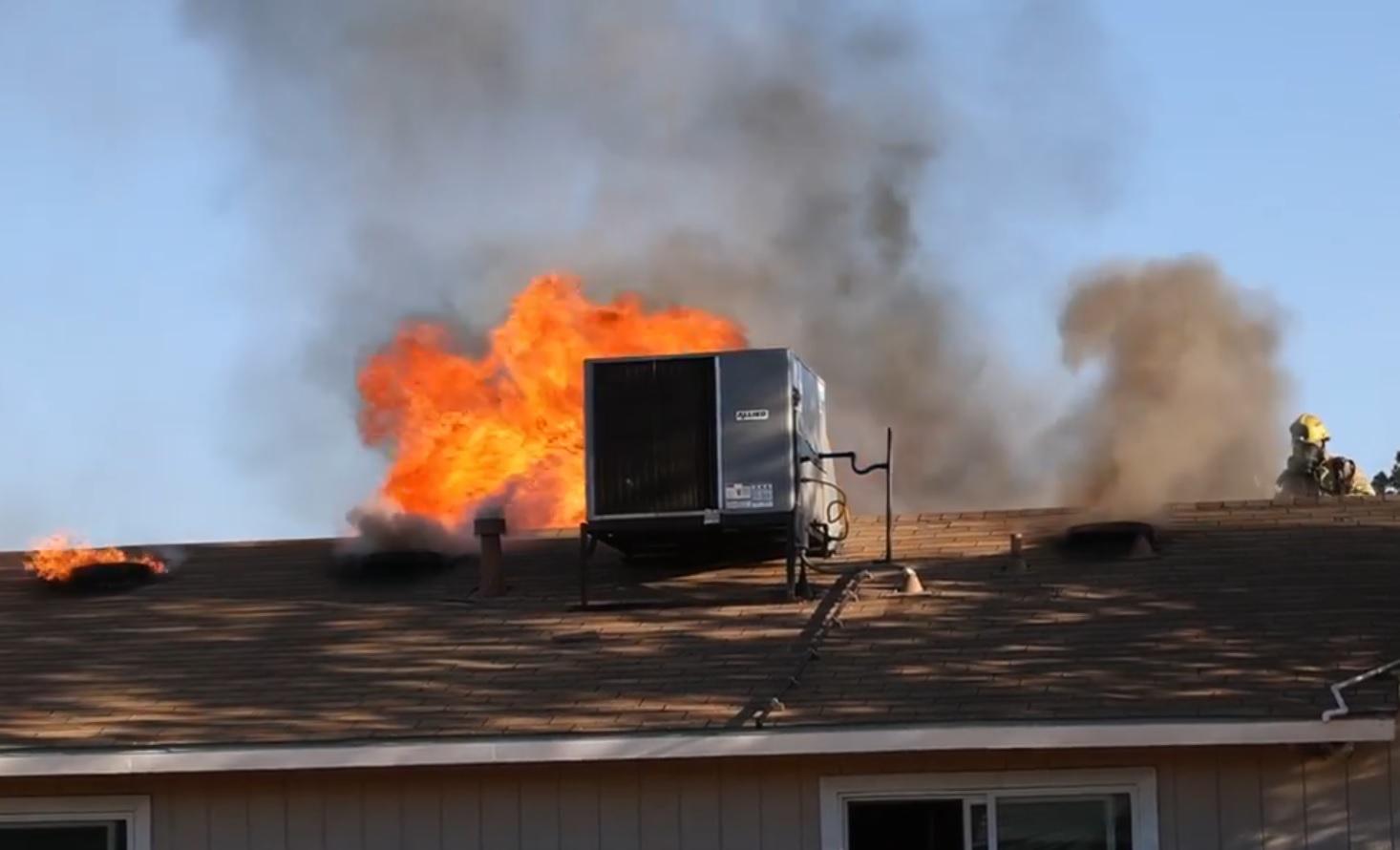 Fire causes $95K worth of damage to Visalia duplex