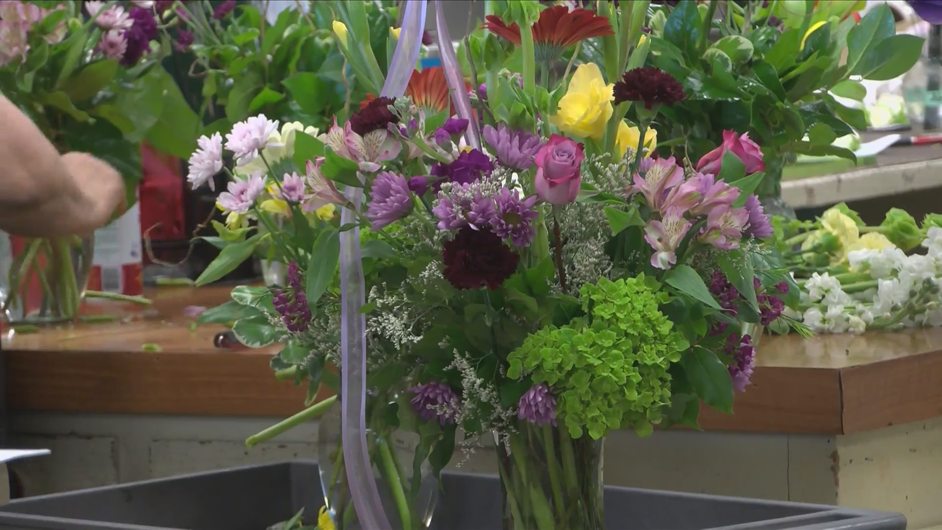 Flower shortage concerns as Mother's Day approaches