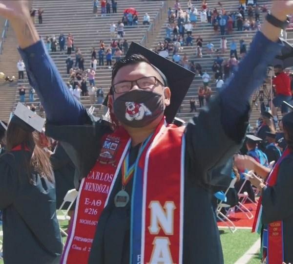 Education Matters: Graduates finally celebrate their success