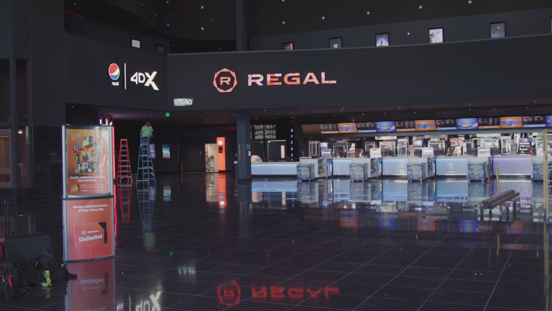 Regal Cinema's in Fresno's River Park almost ready to reopen - with changes