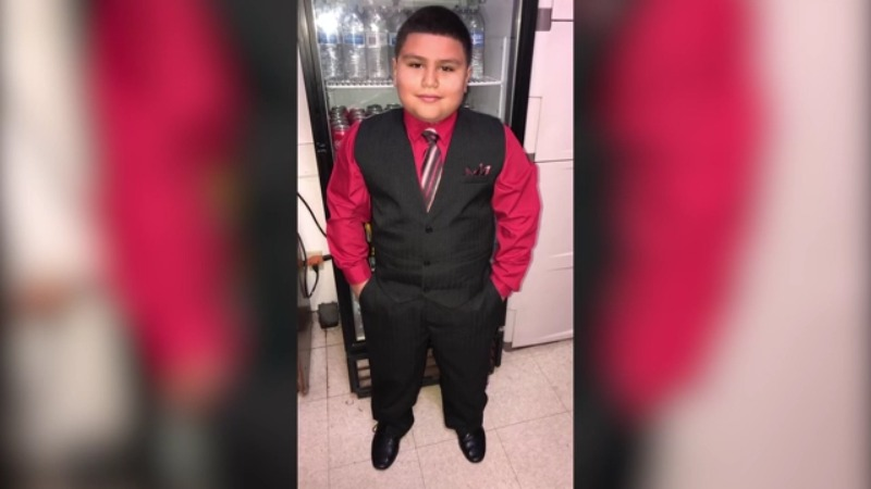 10-year-old Angel Hernandez