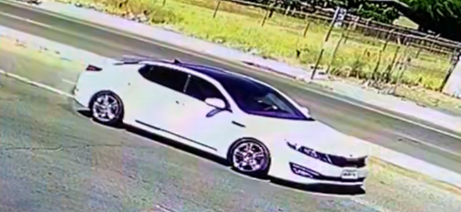 Fresno Police say this car was involved in a hit-and-run