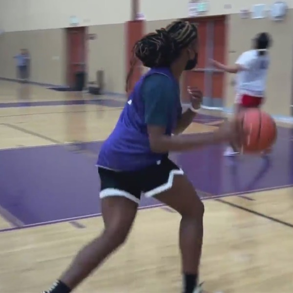 High school senior becomes basketball role model