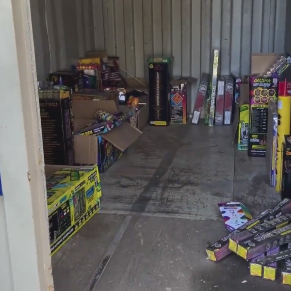 Massive haul of illegal fireworks one part of a major Fresno crackdown