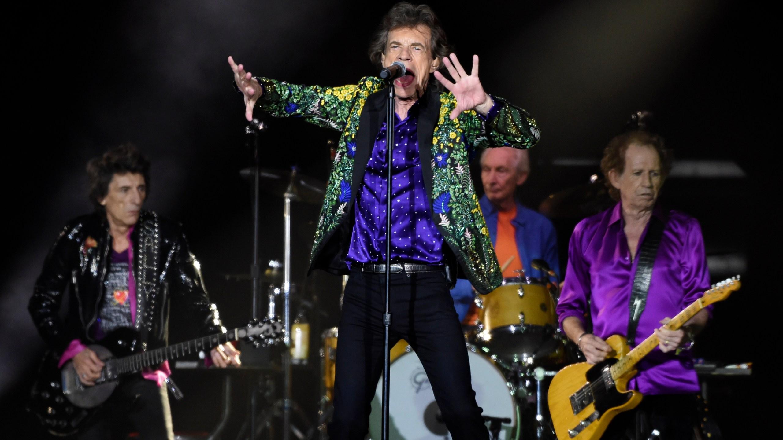 Mick Jagger, Ron Wood, Charlie Watts, Keith Richards
